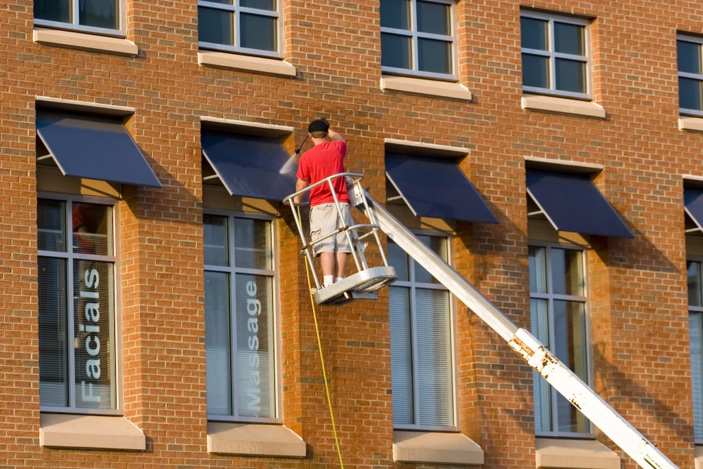 dallas awning cleaning service