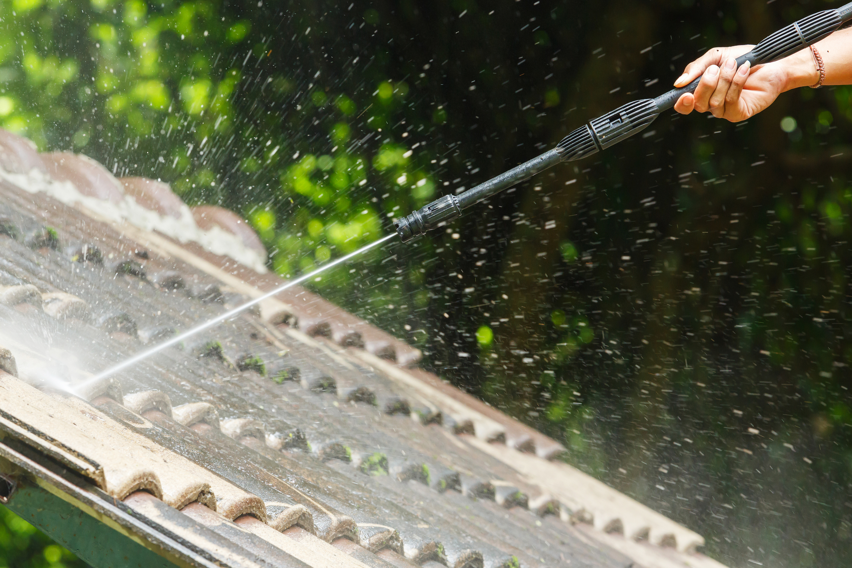 dallas roof washing service